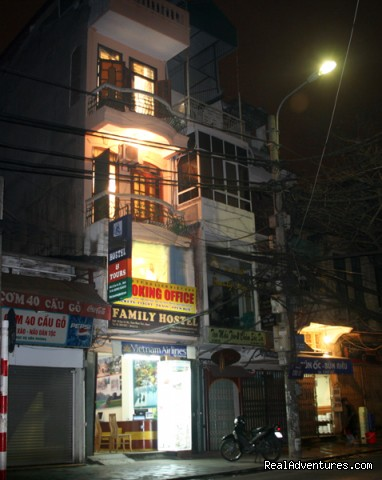 Hanoi Family Hostel: Hanoi Family Hostel beside Hoan Kiem lake