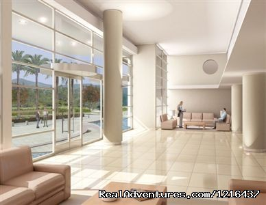 Lobby of the building ap 4 people - Providencia Santiago EXCLUSIVE ZONE OF SANTIGO