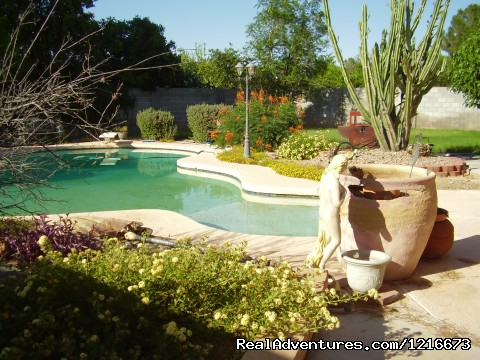 Enjoy the city of the sun from Mesa, Arizona: Oasis Backyard at Medina House