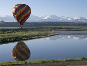 A Grand Adventure Balloon Tour Winter Park, CO., Colorado Scenic Flights