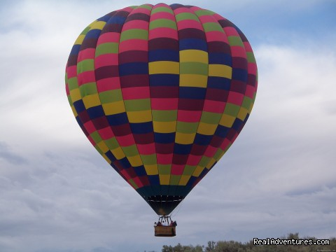 Scenic Hot Air Balloon Rides in Albuquerque