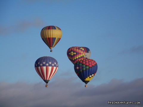 - Scenic Hot Air Balloon Rides in Albuquerque