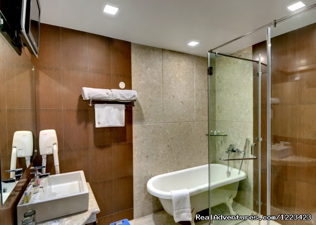 Guest Room Bathroom - Romantic Boutique Hotel With Modern Luxuries