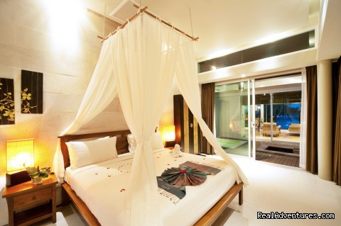 Two bedroom beachfront bedroom -  romantic getaways at Elements boutique resort