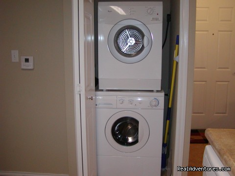 Washer/Dryer at Moon River, 1B/1B - Jack's Penthouse & Moon River at Waterwheel Condos
