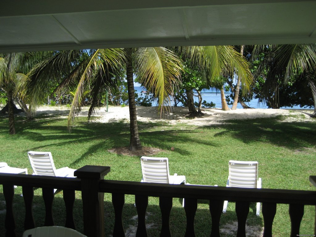 View from your beach bungalow | Image #3/10 | Beach Bungalows in the Seychelles