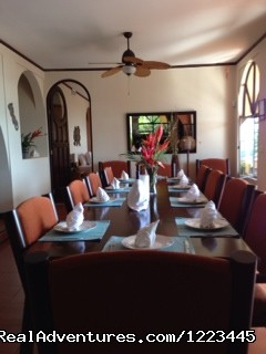 Diningroom - The Villa Cielo
