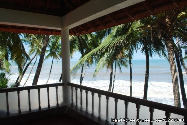 A view from the balcony of the bedroom | Image #5/20 | Ocean Hues Beach House - Seaside Holiday in Kerala
