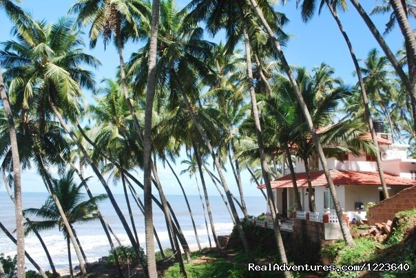 A distant view of 'Ocean Hues' | Image #17/20 | Ocean Hues Beach House - Seaside Holiday in Kerala