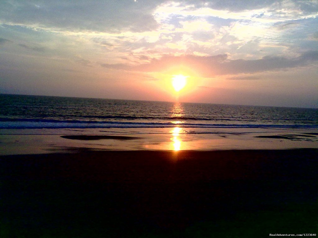 The sunset as seen from Ocean Hues | Image #20/20 | Ocean Hues Beach House - Seaside Holiday in Kerala