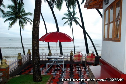 A view of the sea from Ocean Hues - Ocean Hues Beach House - Seaside Holiday in Kerala