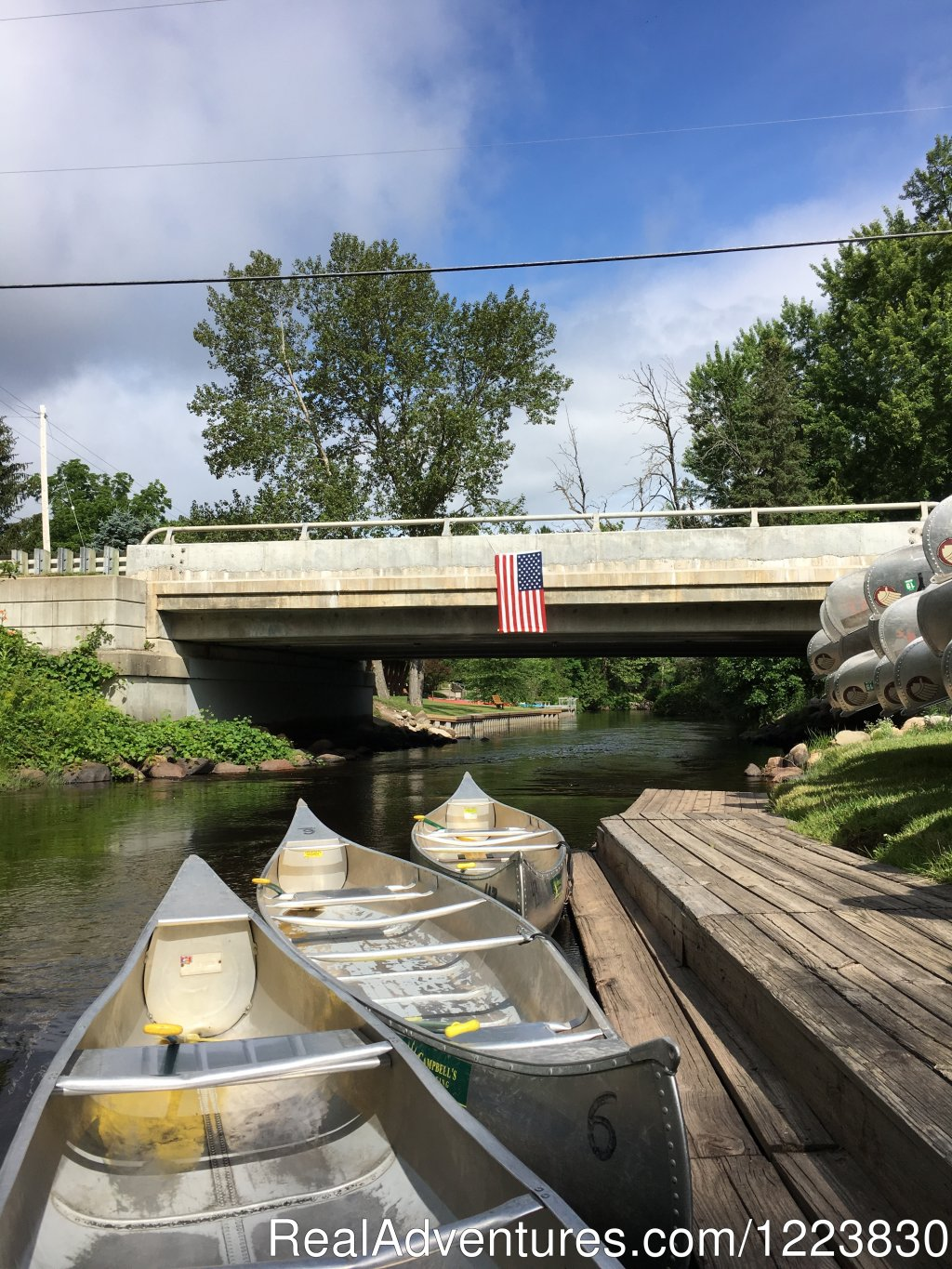 Canoes on the 4th of July | Image #2/2 | Family Fun Weekend Up North at Campbell's Canoe's