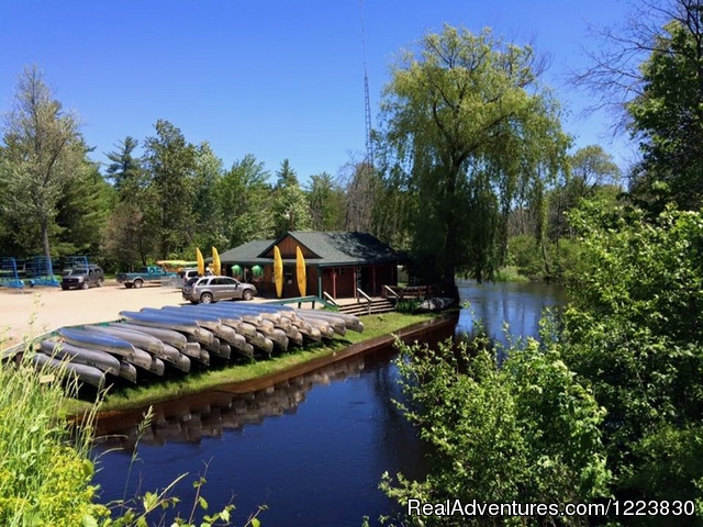 Family Fun Weekend Up North at Campbell's Canoe's Roscommon, Michigan Kayaking & Canoeing