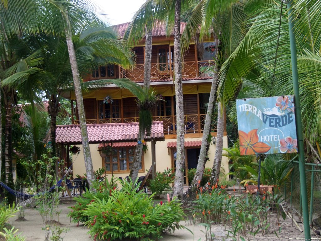 We are a hotel located on the islands of Bocas Del Toro. The island has less the a thousand people there are no roads or cars and it peaceful and quite. Also world class surfing and snorkeling located on the corner of the island.