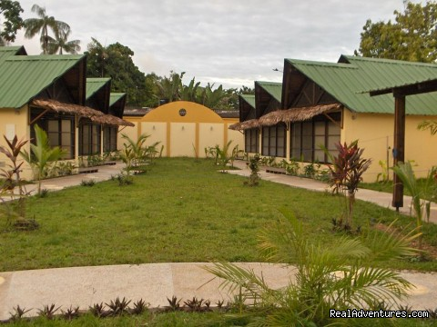 Bungalows at the college - Learn Spanish & Volunteer in Amazonas - Colombia