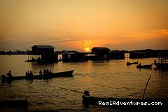 Sunset in Amazonas - Learn Spanish & Volunteer in Amazonas - Colombia