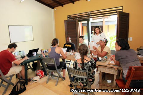 Classroom - Learn Spanish & Volunteer in Amazonas - Colombia