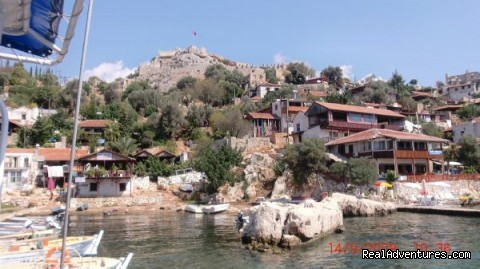 Kekova - A Breath Taking Blue Cruise
