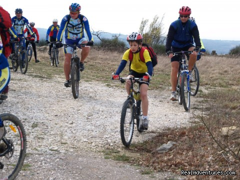 Bike Adventures Hauptfeld Croatia Easy recreative bike tour