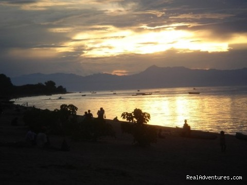Sunset Cape Maclear, Lake Malawi - Malawian Style - Safari, Mountain, Lake Adventures