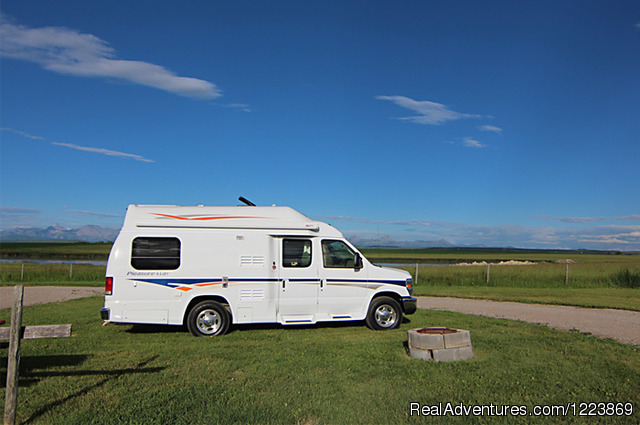 Deluxe Van Camper (DVC) - CanaDream RV Rentals & Sales - Calgary