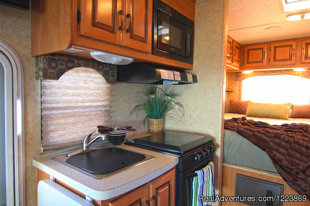 MHB Midi Motorhome Interior (#7 of 7) - CanaDream RV Rentals & Sales - Calgary