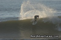 Ripping at Azurara - Azurara Surf Camp Portugal