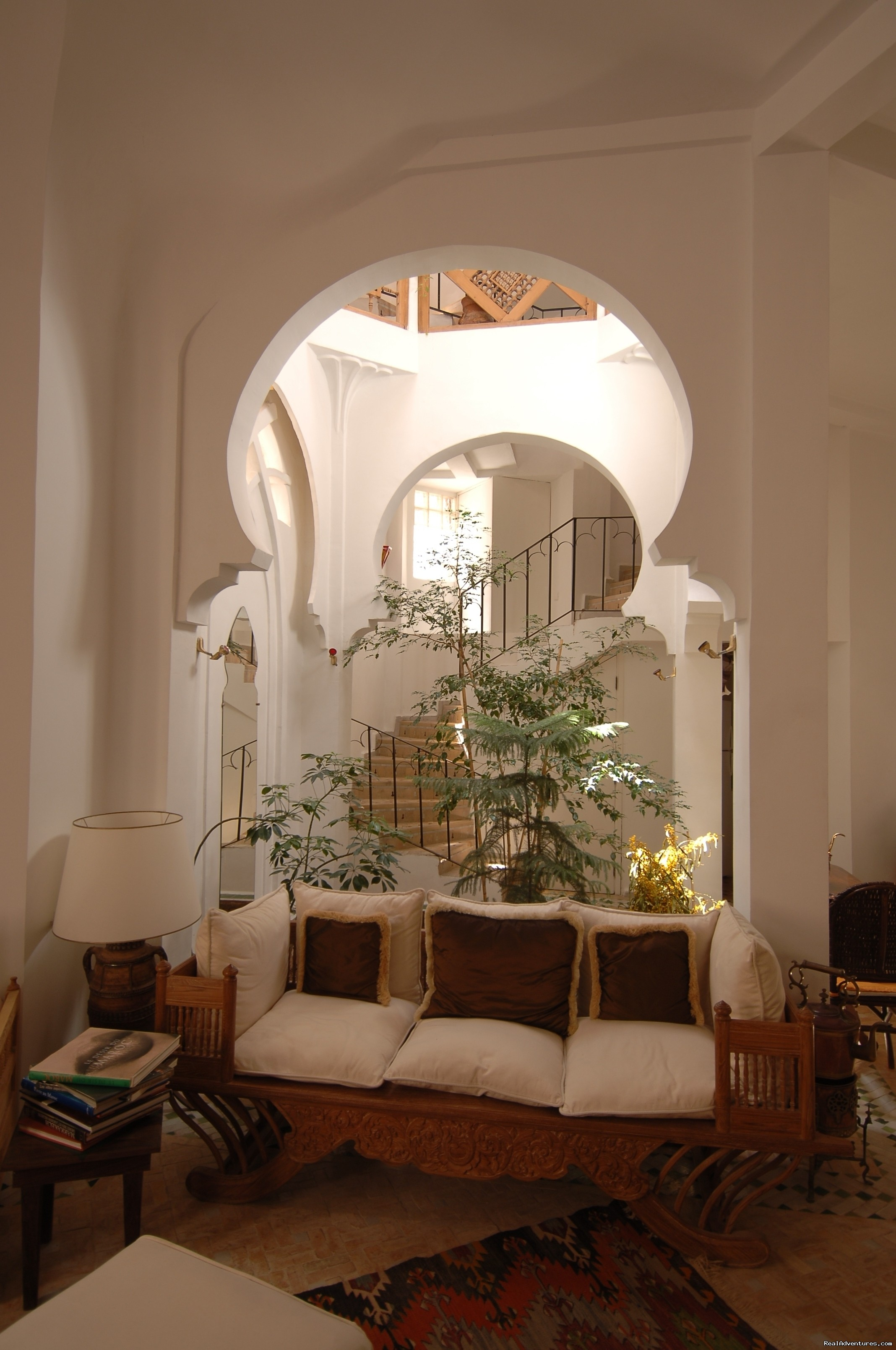 Sitting area | Image #2/12 | Charming Guesthouse in Essaouira