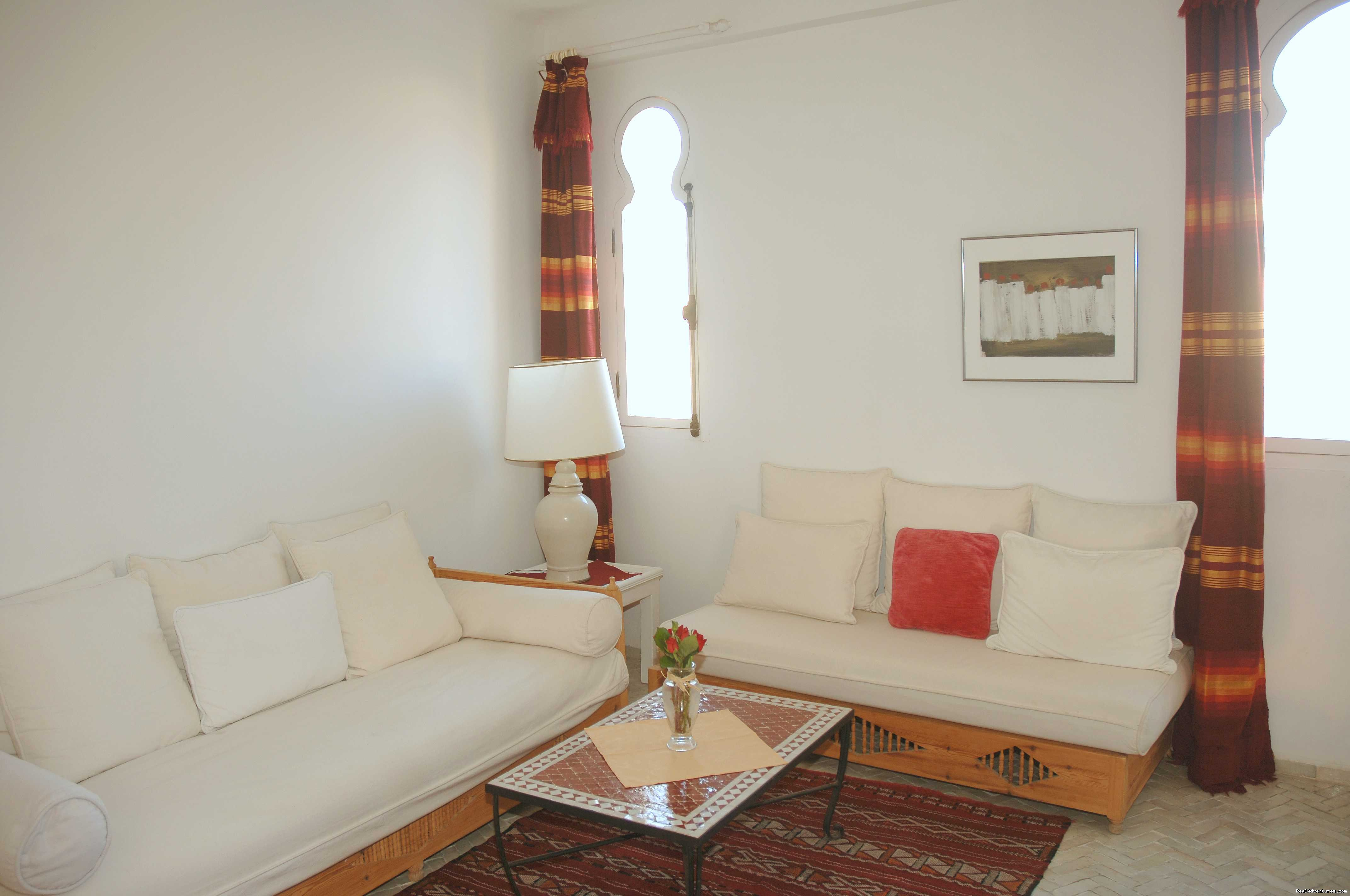 Living room Lavande | Image #8/12 | Charming Guesthouse in Essaouira
