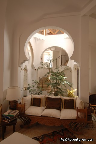 Sitting area - Charming Guesthouse in Essaouira