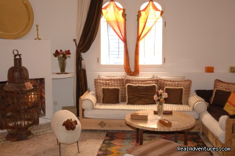 lounge - Charming Guesthouse in Essaouira