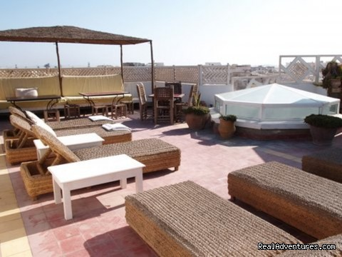Dar Liouba terrace - Charming Guesthouse in Essaouira