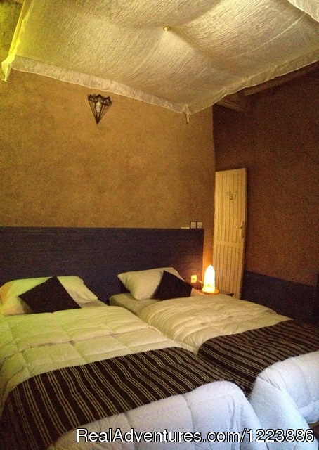 Twin room - Chez Youssef Lodge