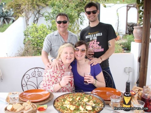 The path to Paella class - Cooking & Wine Classes in Costa del Sol, Andalucia