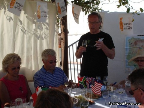 Spanish Wine lecture and tasting - Cooking & Wine Classes in Costa del Sol, Andalucia