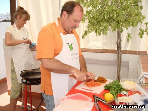 Prep area (#22 of 25) - Cooking & Wine Classes in Costa del Sol, Andalucia