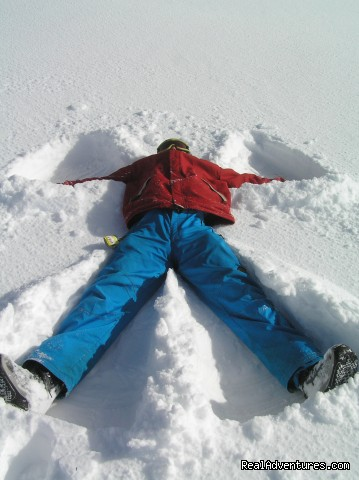 NZ Snow Tours, Snow Angel - NZ Snow Tours