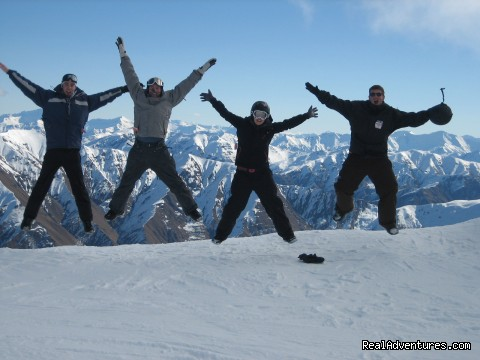 NZ Snow Tours, Jumping for Joy at Cardrona (#15 of 19) - NZ Snow Tours