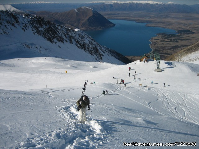 NZ Snow Tours hiking Ohau - NZ Snow Tours