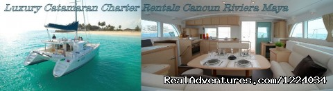Luxury Yacht Charter Cancun Riviera Maya Mexico