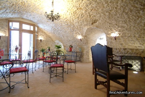 Breakfast Room Lounge - Corte Belvoir Guest House & Romantic Inn