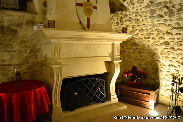 Fire Place (#20 of 26) - Corte Belvoir Guest House & Romantic Inn