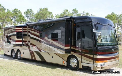 Luxury RV Rentals in California: