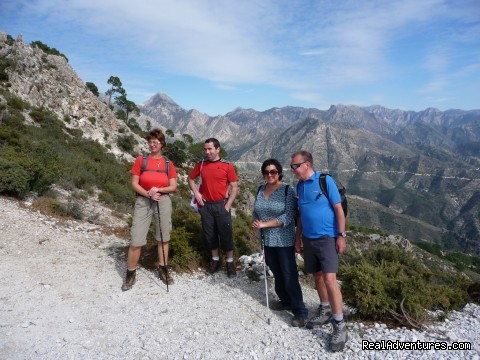 Hiking Holidays in Spain's most beautiful region Malaga, Spain Hiking & Trekking