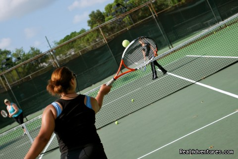 Cardio Tennis Rocks - Beach Fitness Retreat
