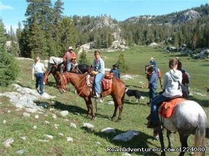 Western Wyoming Outfitters Pinedale, Wyoming Horseback Riding