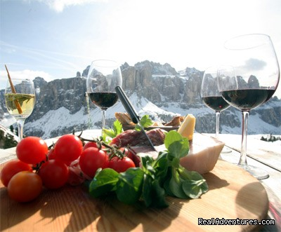 South Tyrolean specialities - Abinea Dolomiti Romantic Hotel in Italy