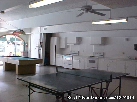 Large club room - Santa Fe Park -Your RVing destination in San Diego