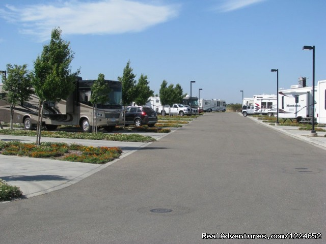 Plenty of room for the big rigs - Flag City RV Resort