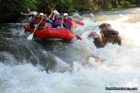 Exciting Ocoee Whitewater Rafting Adventures